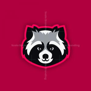 Raccoon mascot - Logo