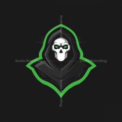 Death Mascot Logo