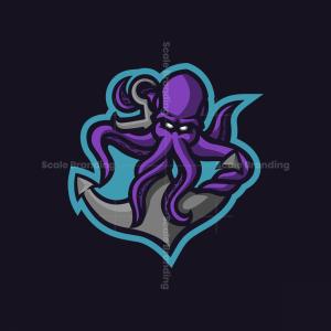 Kraken Mascot Logo