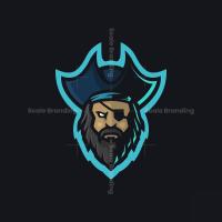 Pirate Mascot Logo