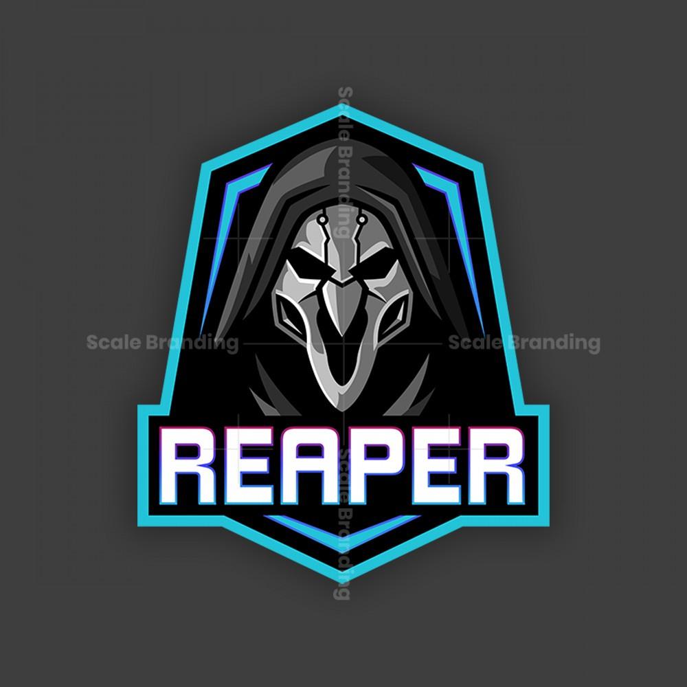 Reaper Mascot Logo Logo