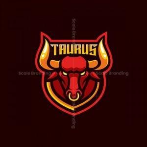 Taurus Mascot Logo