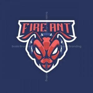 Fire Ant Mascot Logo