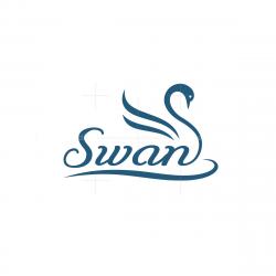 Calligraphy Swan Logo