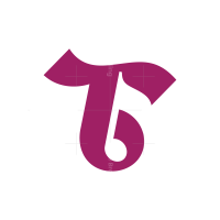 Letter T Musical Note Logo