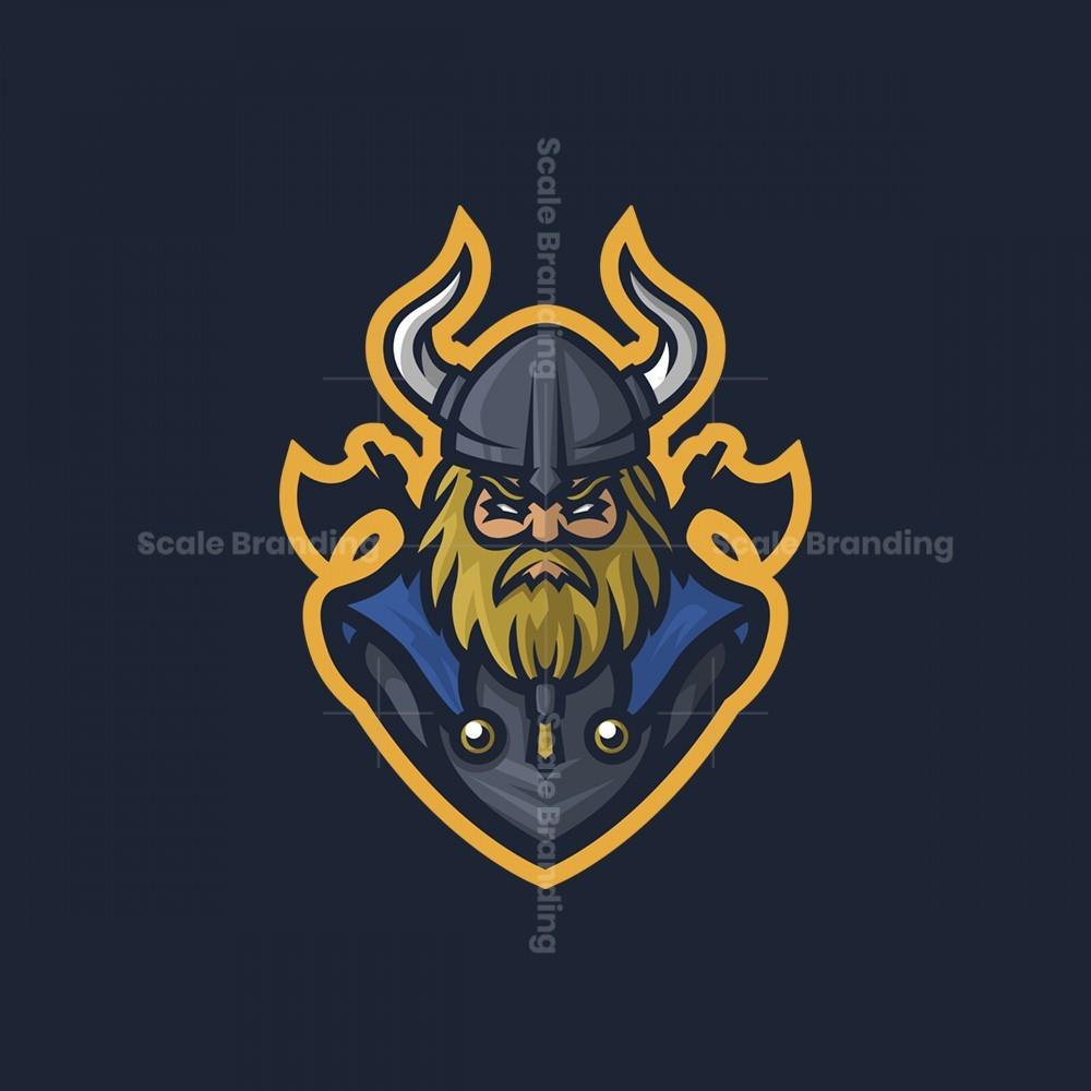 Viking Mascot Logo