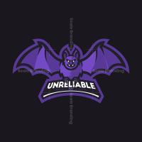 Bat Mascot Logo
