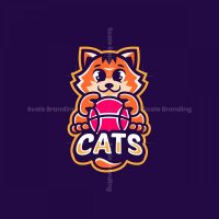 Cute Cats Mascot Logo