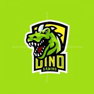 Dinosaur Mascot Logo