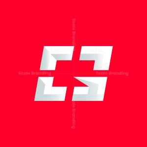 G Crosshair Initial Gaming Logo Design