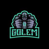 Golem Mascot Logo