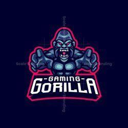 Gorilla Gaming Mascot Logo