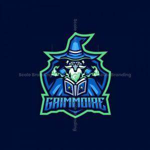 Grimmoire Mascot Logo