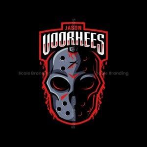 Jason Voorhees Mask Logo