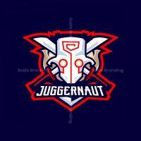 Juggernaut Mascot Logo