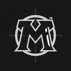 M Initial Logo