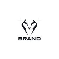 Minimalist Lion Logo