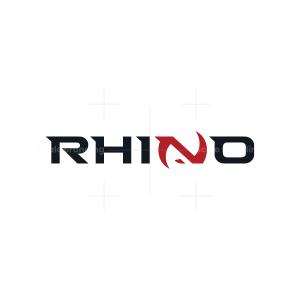 Minimalist Rhino Logo
