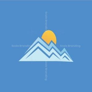Mountain And Sun Logo