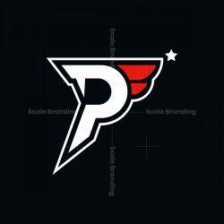P Initial Logo