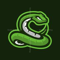 Snake Mascot Logo
