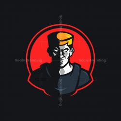 Soldier Mascot Logo