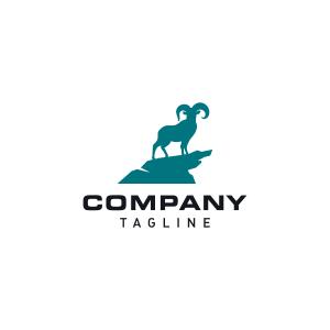 Strong Bighorn Sheep Logo