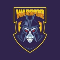 Warrior Mascot Logo