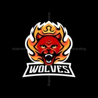 Wolves Mascot Logo