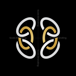Abstract Brain Logo