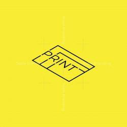 Typographic Print Logo