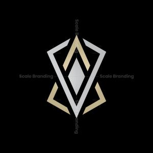 Av Monogram Logo Av Va Logo