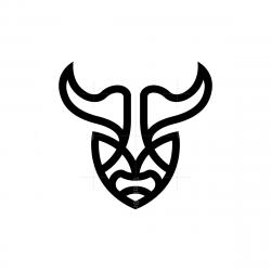 Bison Head Logo