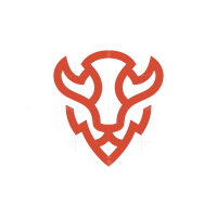Bison Head Logo
