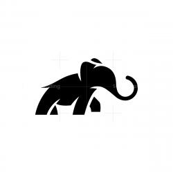 Black Elephant Logo