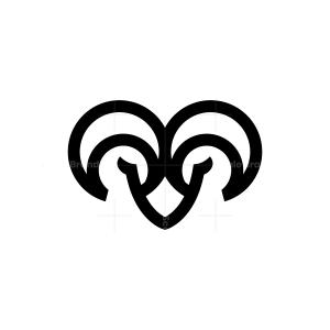 Black Ram Logo
