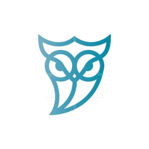 Angry Owl Logo Owl Logo