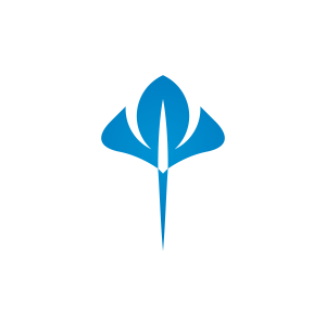 Blue Stingray Logo