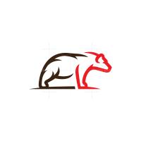 Bear Logo Grizzly Logo