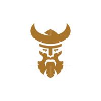 Bearded Viking Logo Viking Head Logo