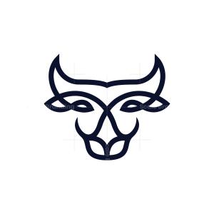 Bull Head Logo Bull Logo
