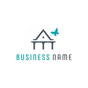 Butterfly House Logo