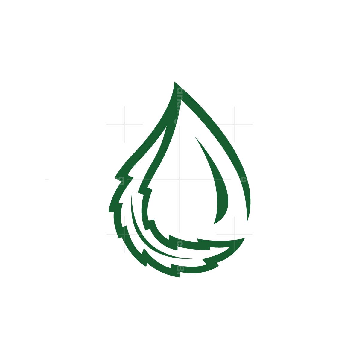 Cannabis Leaf Drop