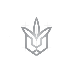 Cannabis Lion Logo Weed Lion Logo
