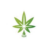 Cbd Drop Cannabis Logo