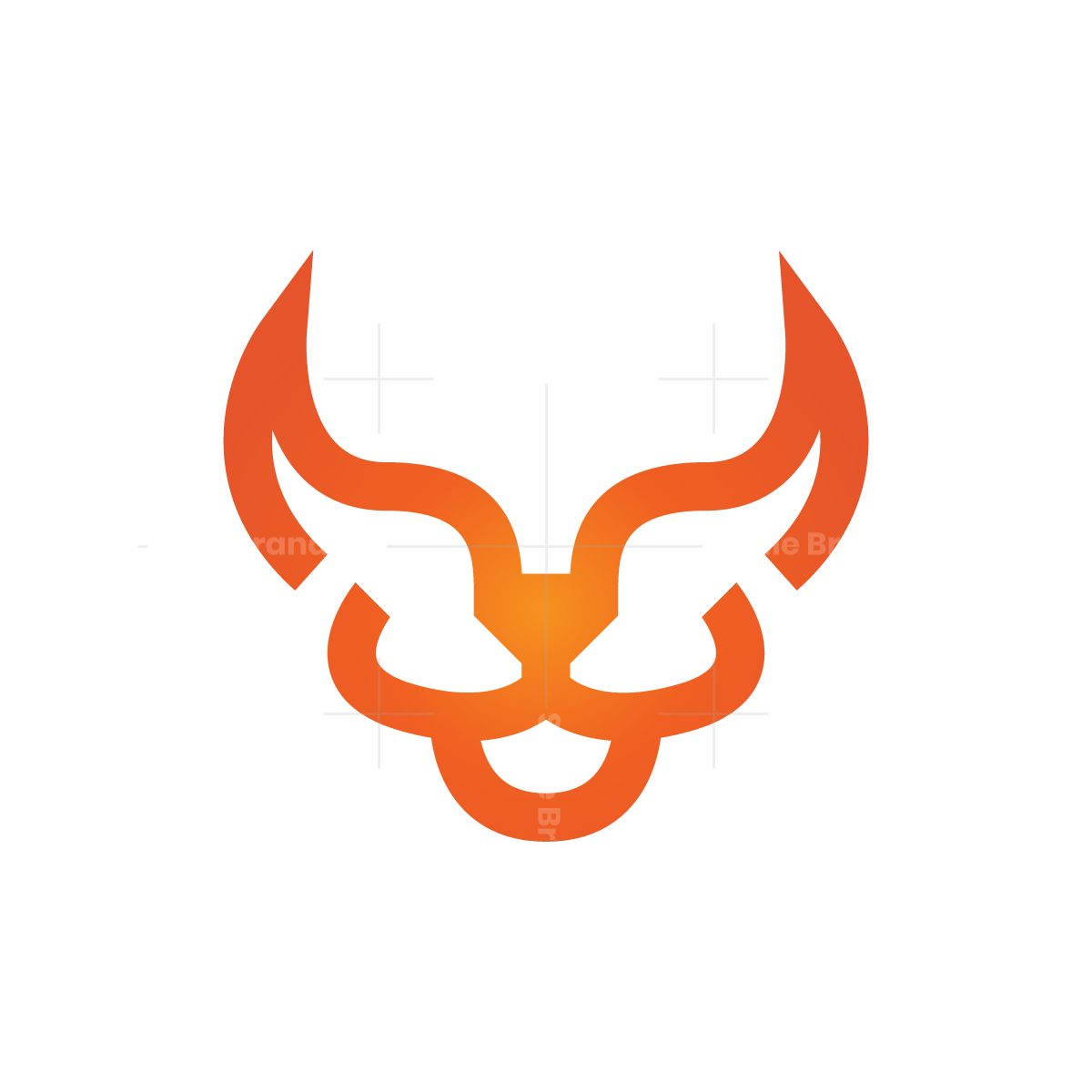 devil lion logo devil lion logo