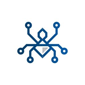 Diamond Technology Spider Logo