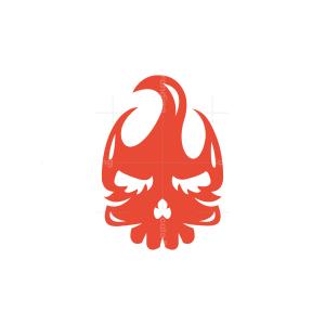 Fire Skull Logo
