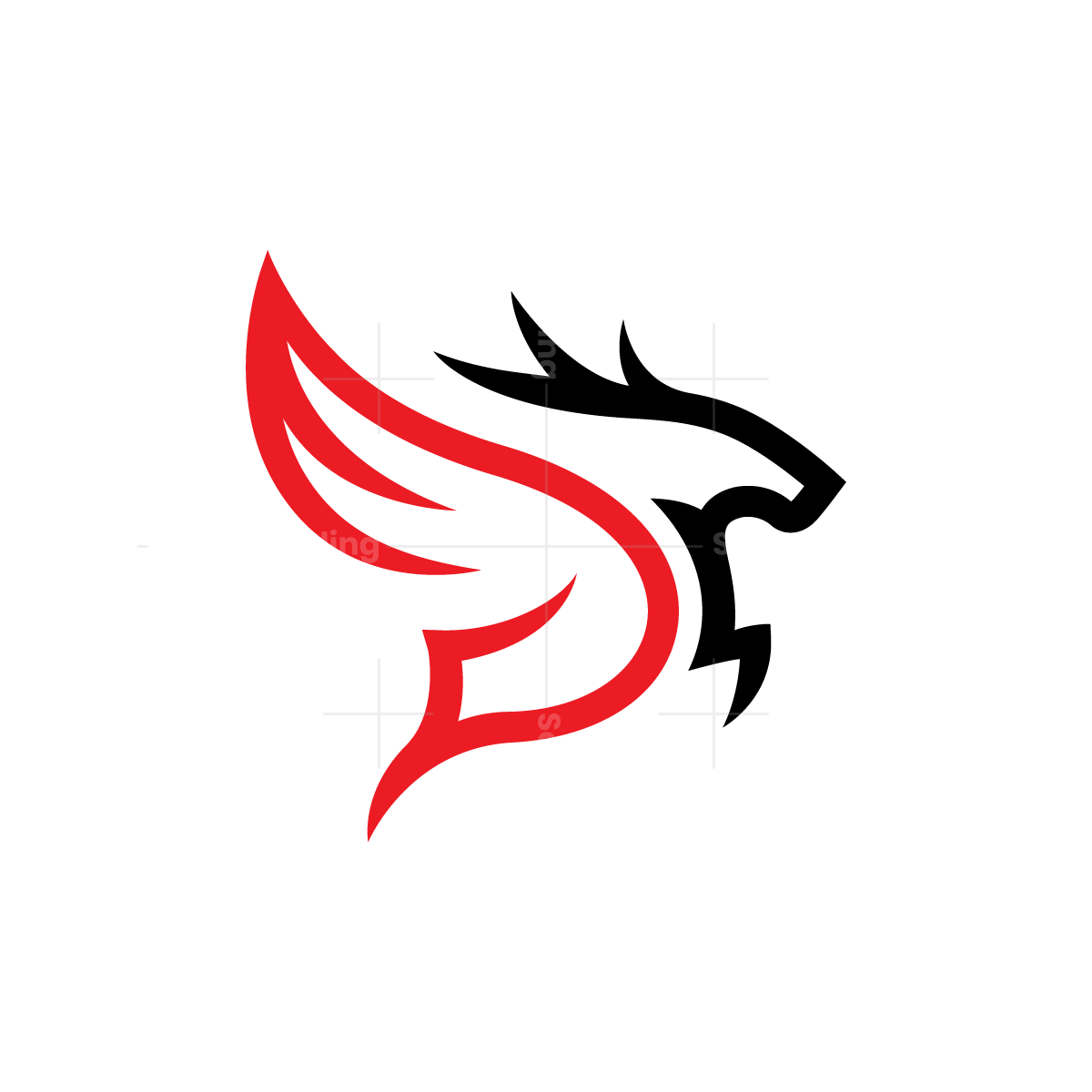 Winged Deer Logo