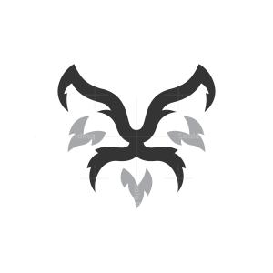 Kissing Foxes Logo Fox Logo